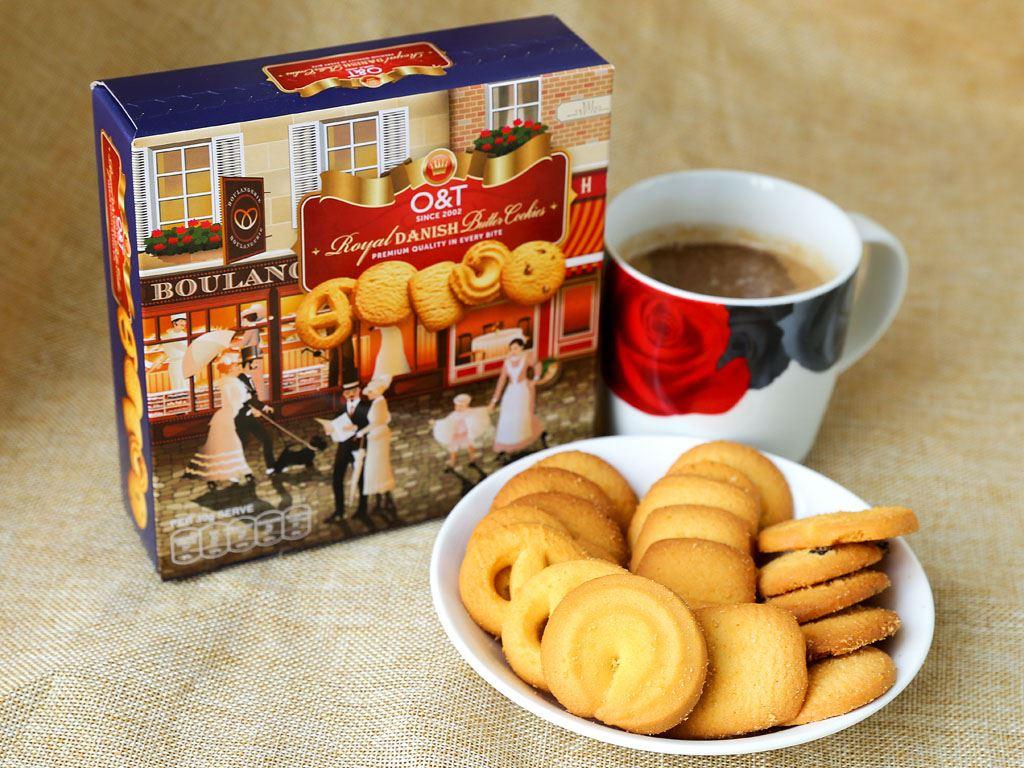 Bánh quy bơ O&T Royal Danish hộp 110g 2