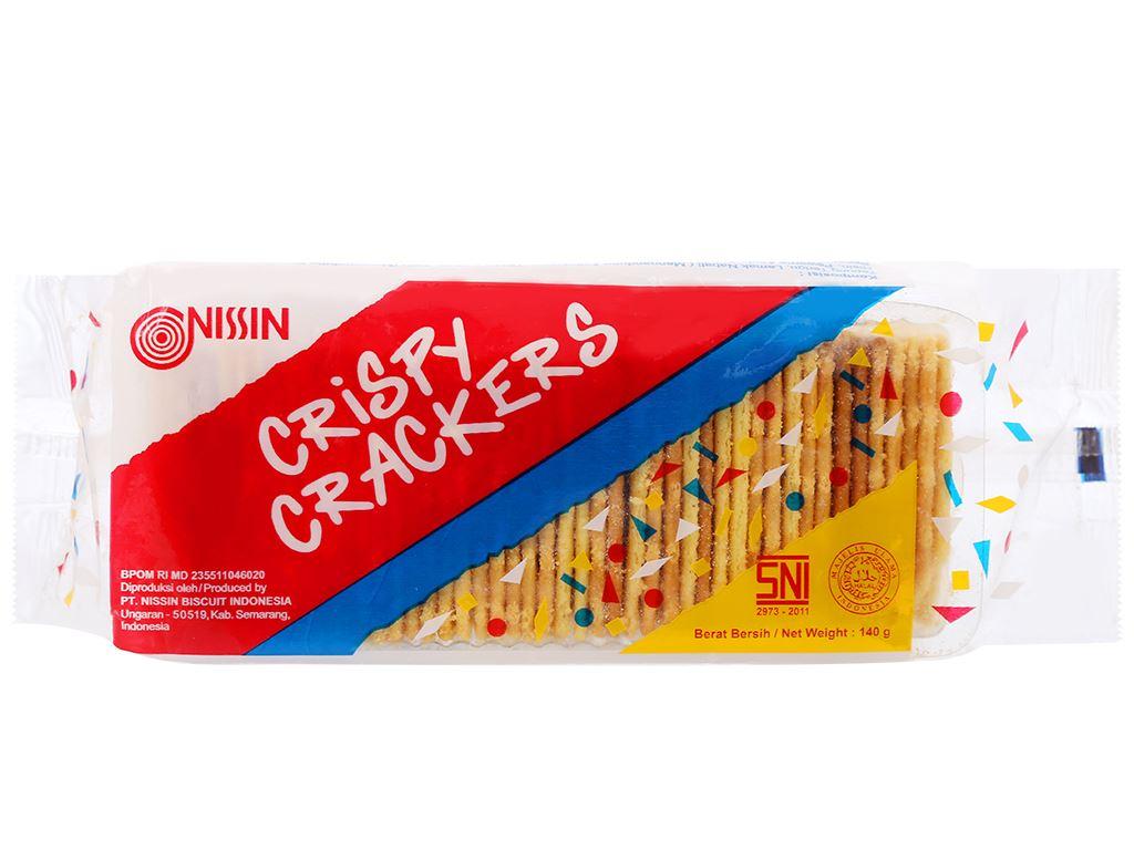 Bánh quy giòn vị truyền thống Nissin gói 140g 1