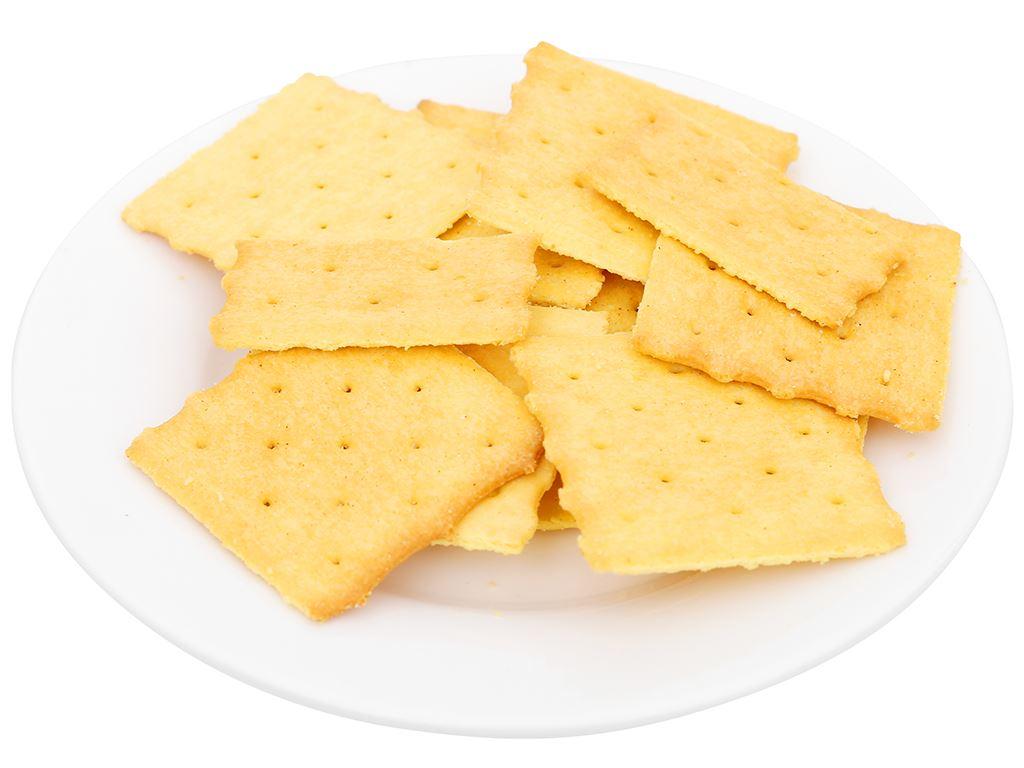 Bánh quy giòn vị truyền thống Nissin gói 140g 6