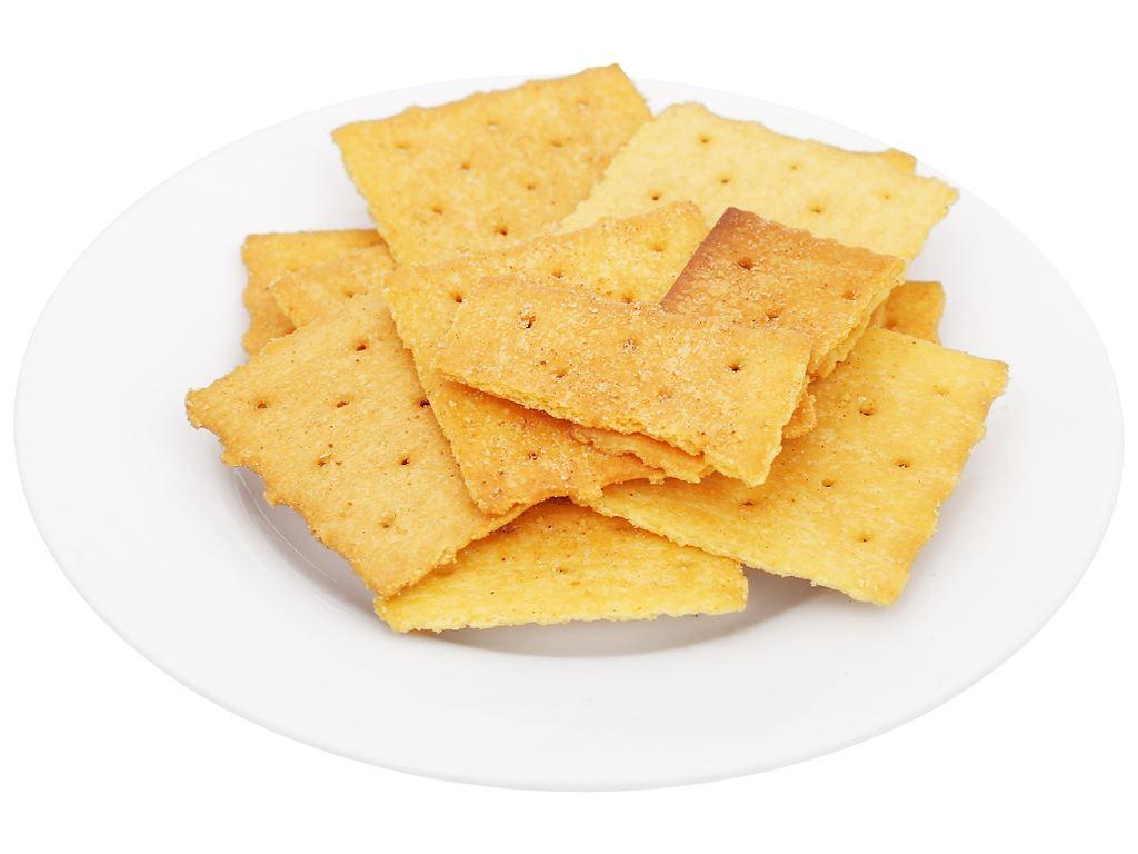 Bánh quy giòn vị cay Nissin gói 140g 8