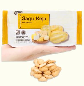 Bánh quy phô mai Nissin Sagu Keju gói 110g