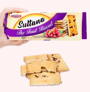 Bánh quy rắc nho khô Walens Suttana gói 160g