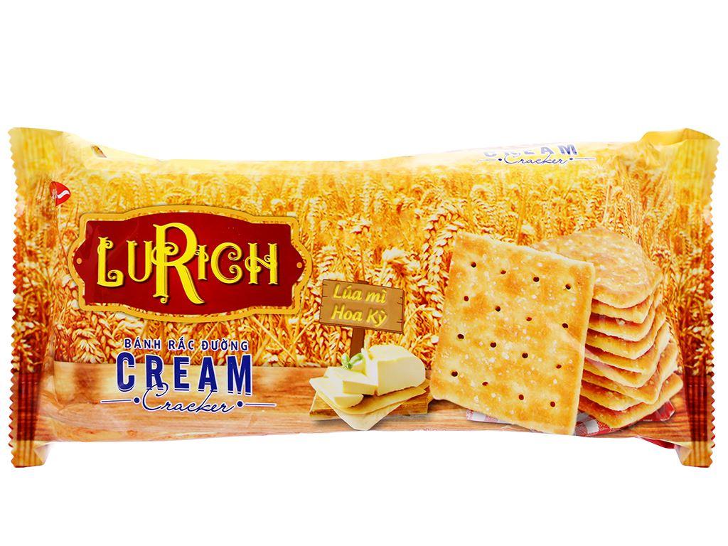 Bánh cracker rắc đường Lurich gói 178g 1