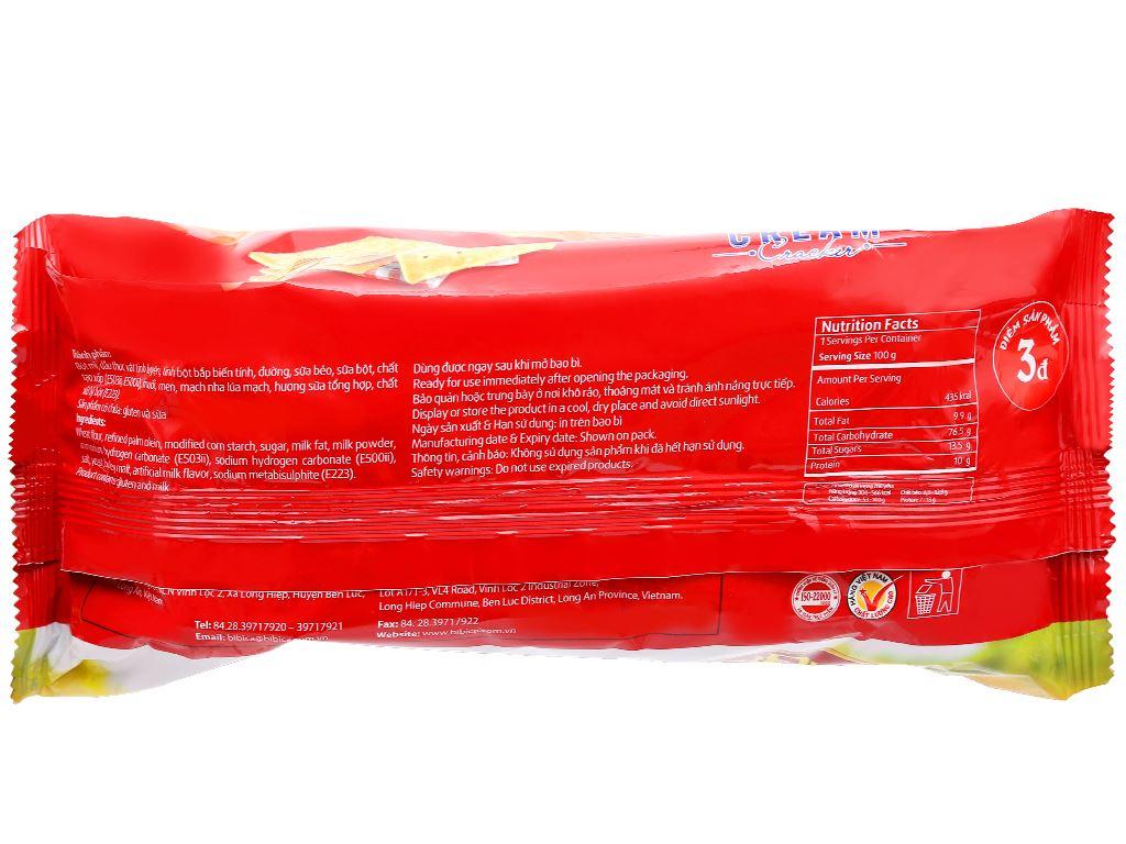 Bánh cracker rắc đường Lurich gói 178g 2