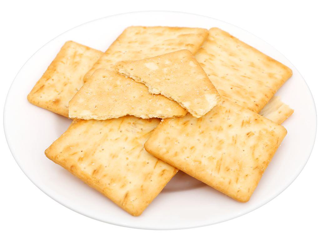 Bánh cracker rắc đường Lurich gói 178g 6