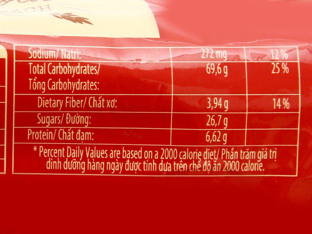 Bánh quy hạt socola yến mạch Cosy Original gói 163.2g 4