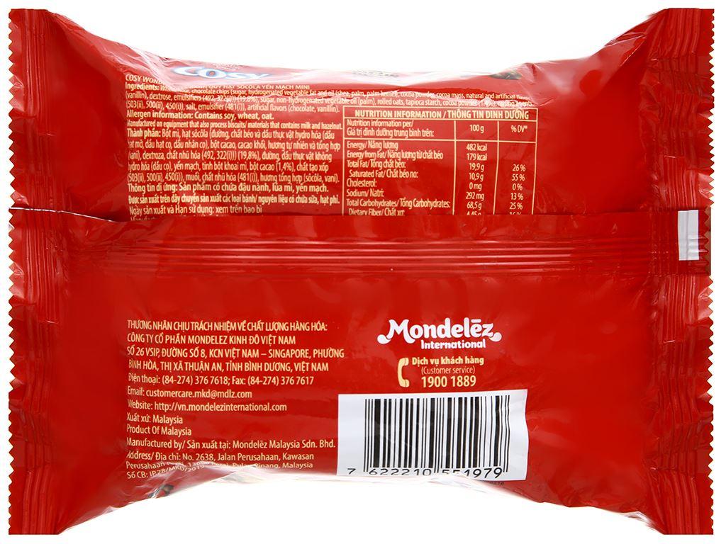 Bánh quy hạt socola yến mạch Cosy Original gói 80g 2