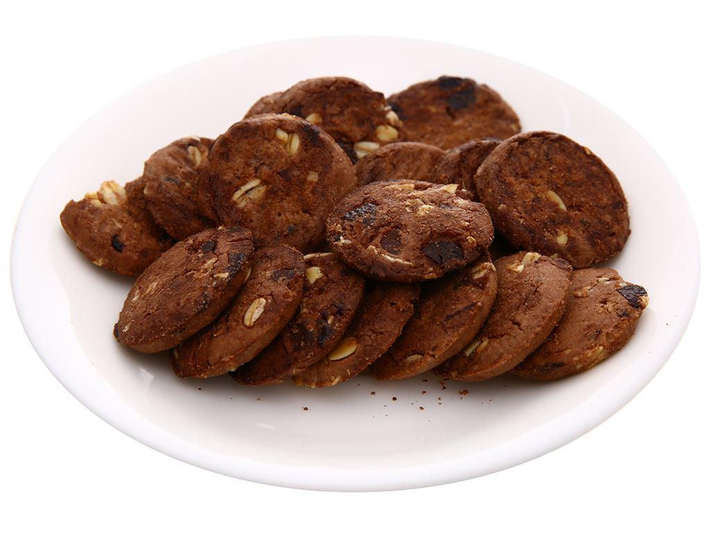 Bánh quy hạt socola yến mạch Cosy Original gói 80g 5
