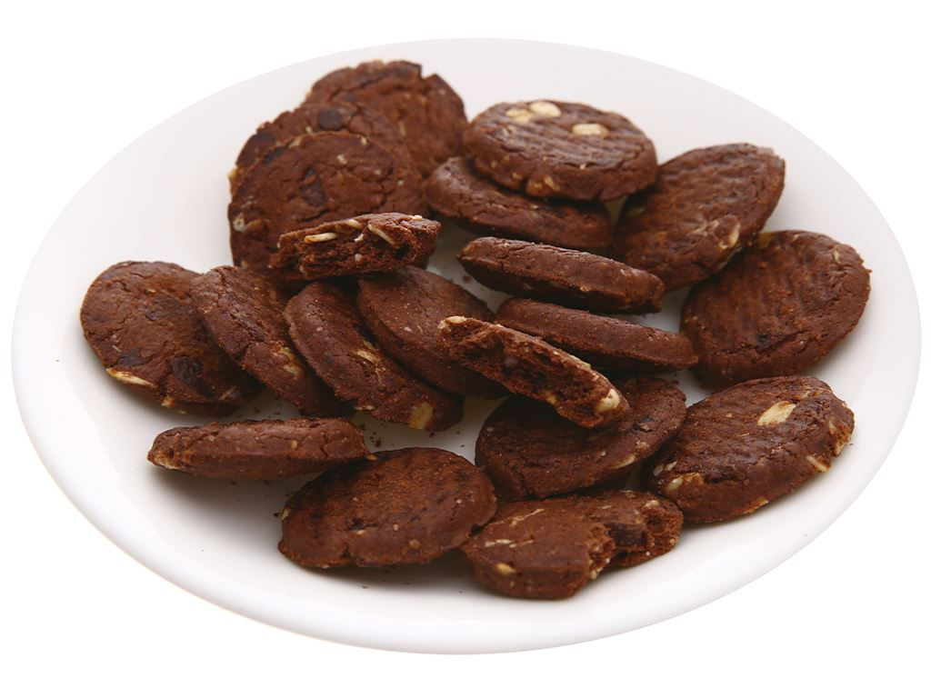 Bánh quy hạt socola yến mạch Cosy Double Choco gói 80g 5