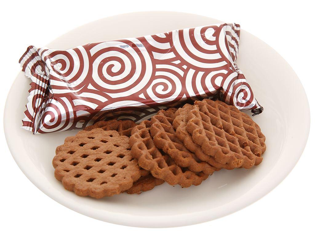 Bánh quy socola Kokola Waffle Cookies hộp 100g 6