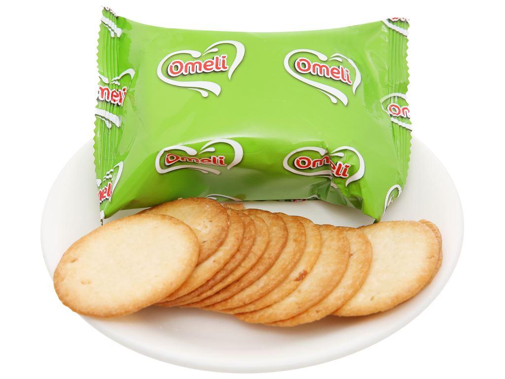 Bánh cracker khoai tây Omeli hộp 128g 6