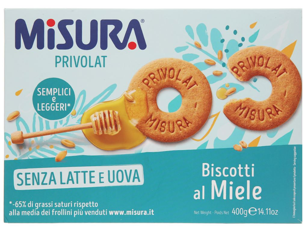 Bánh quy mật ong Misura hộp 400g 1