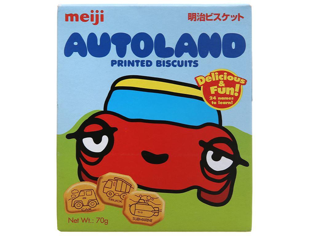 Bánh quy Meiji Autoland hộp 70g 2