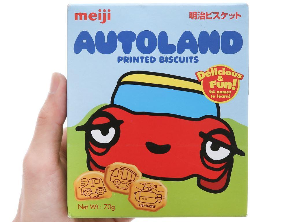Bánh quy Meiji Autoland hộp 70g 6