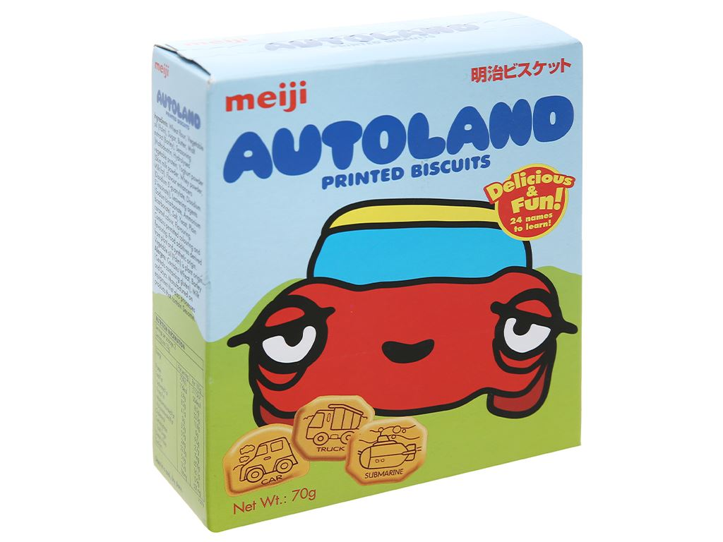 Bánh quy Meiji Autoland hộp 70g 8