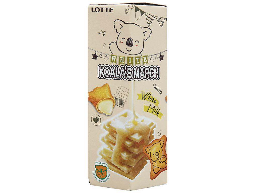 Bánh gấu nhân socola trắng Lotte Koala's March hộp 37g 1