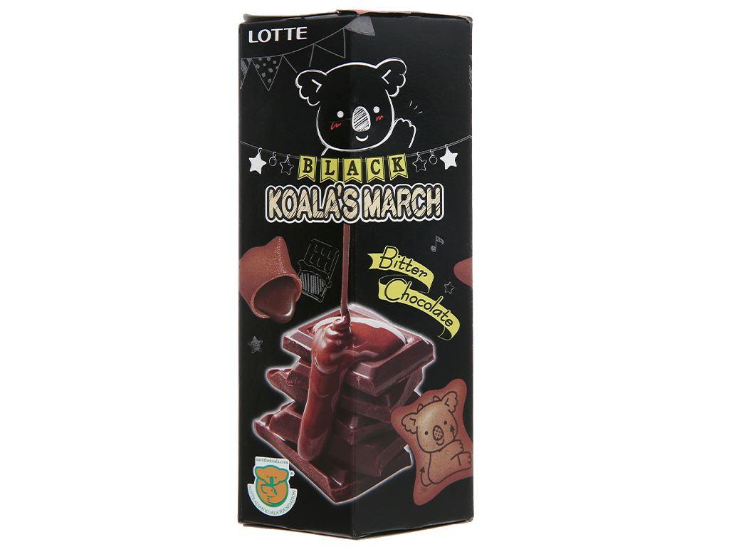 Bánh gấu vỏ và nhân socola Lotte Koala's March hộp 37g 1