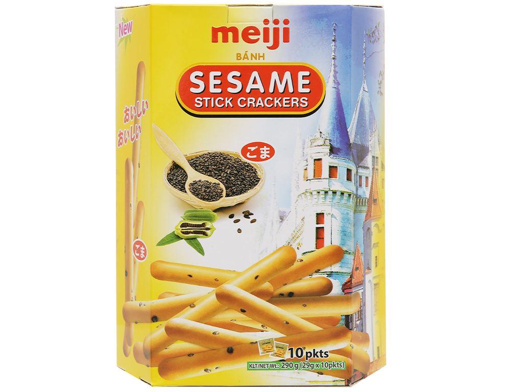 Bánh Sesame Meiji hộp 290g 2