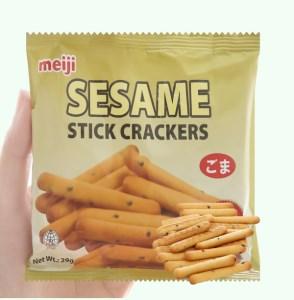 Bánh Sesame Meiji gói 29g
