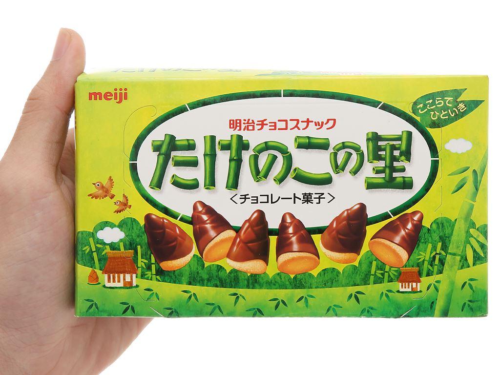 Bánh socola Meiji Takenoko No Sato hộp 70g 4