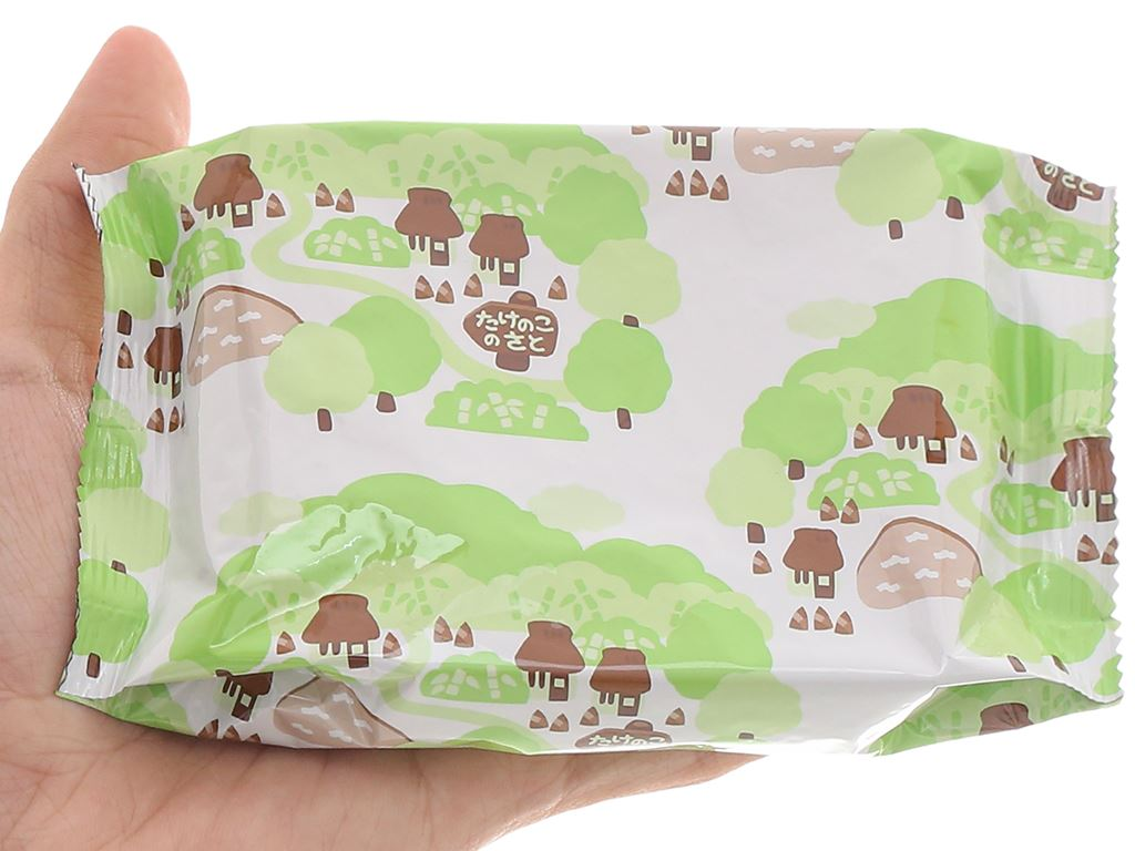 Bánh socola Meiji Takenoko No Sato hộp 70g 5