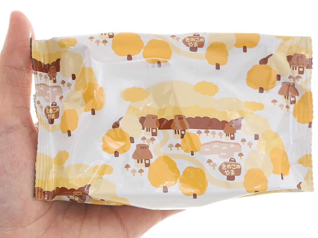 Bánh socola Meiji Kinoko No Yama hộp 74g 5