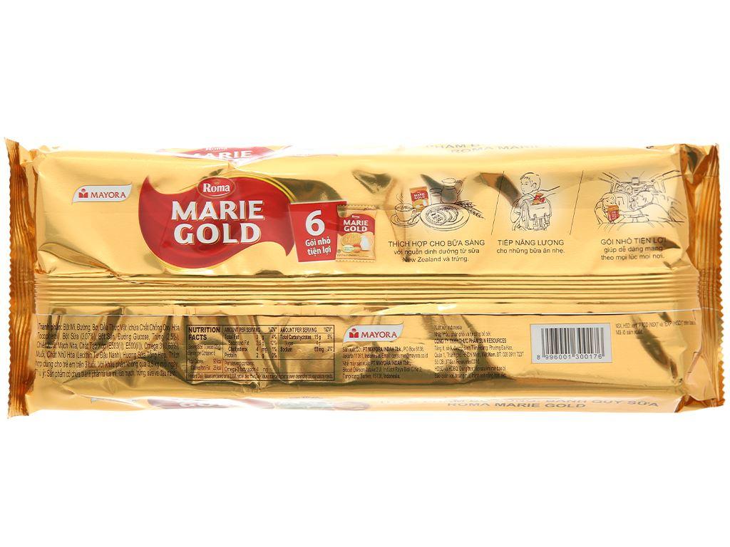 Bánh quy sữa Roma Marie Gold gói 120g 2