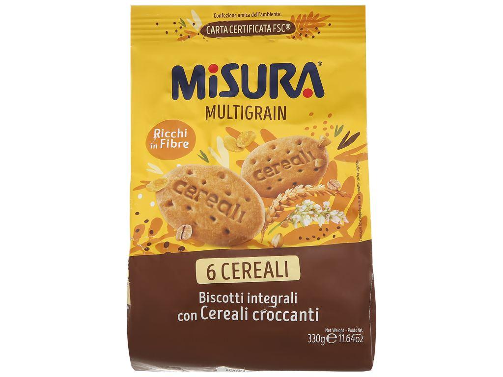 Bánh quy ngũ cốc Misura gói 330g 1