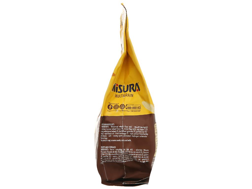 Bánh quy ngũ cốc Misura gói 330g 3