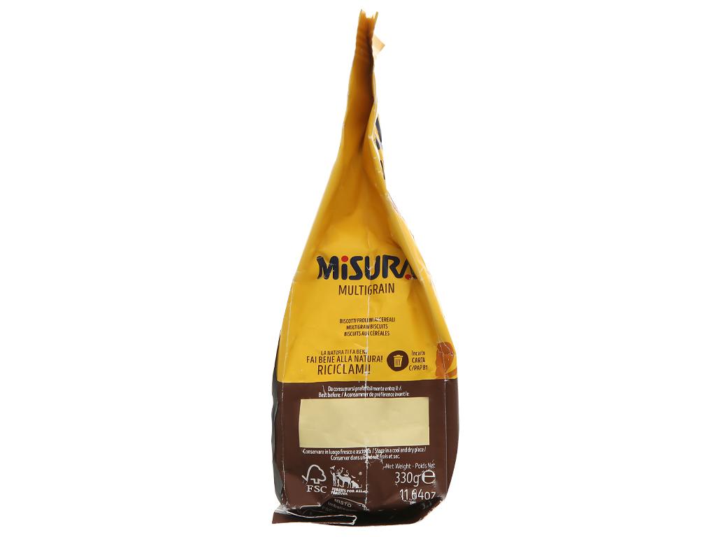 Bánh quy ngũ cốc Misura gói 330g 4