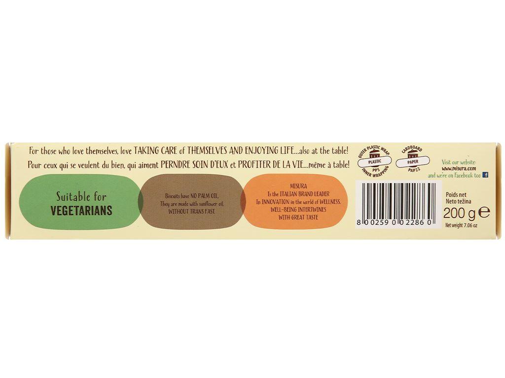 Bánh quy mật ong Misura hộp 200g 4