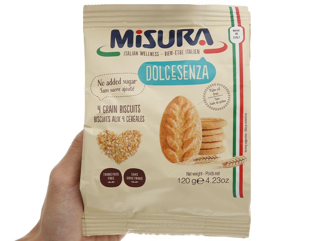 Bánh quy 4 loại ngũ cốc Misura gói 120g 4