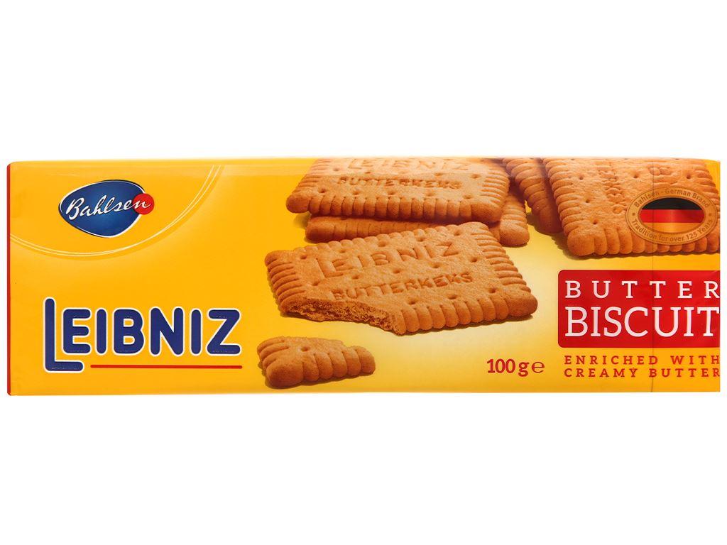 Bánh quy bơ Bahlsen Leibniz gói 100g 1