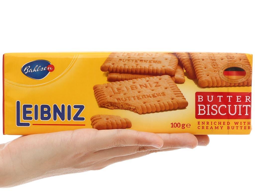 Bánh quy bơ Bahlsen Leibniz gói 100g 5
