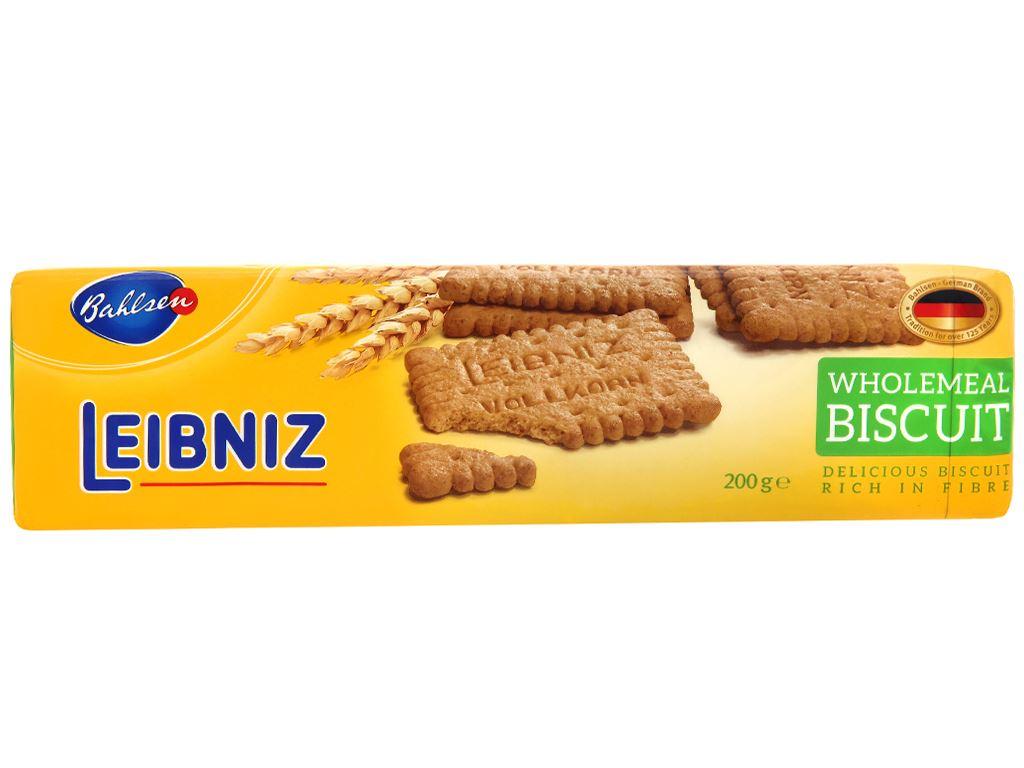 Bánh quy ngũ cốc nguyên hạt Leibniz Bahlsen gói 200g 1