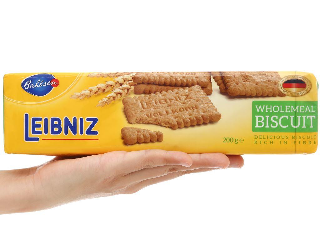 Bánh quy ngũ cốc nguyên hạt Leibniz Bahlsen gói 200g 5