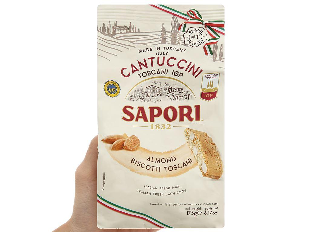 Bánh quy hạnh nhân giòn Sapori gói 175g 4