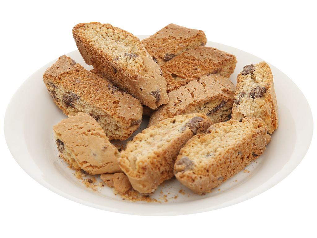 Bánh quy socola giòn Sapori gói 175g 7
