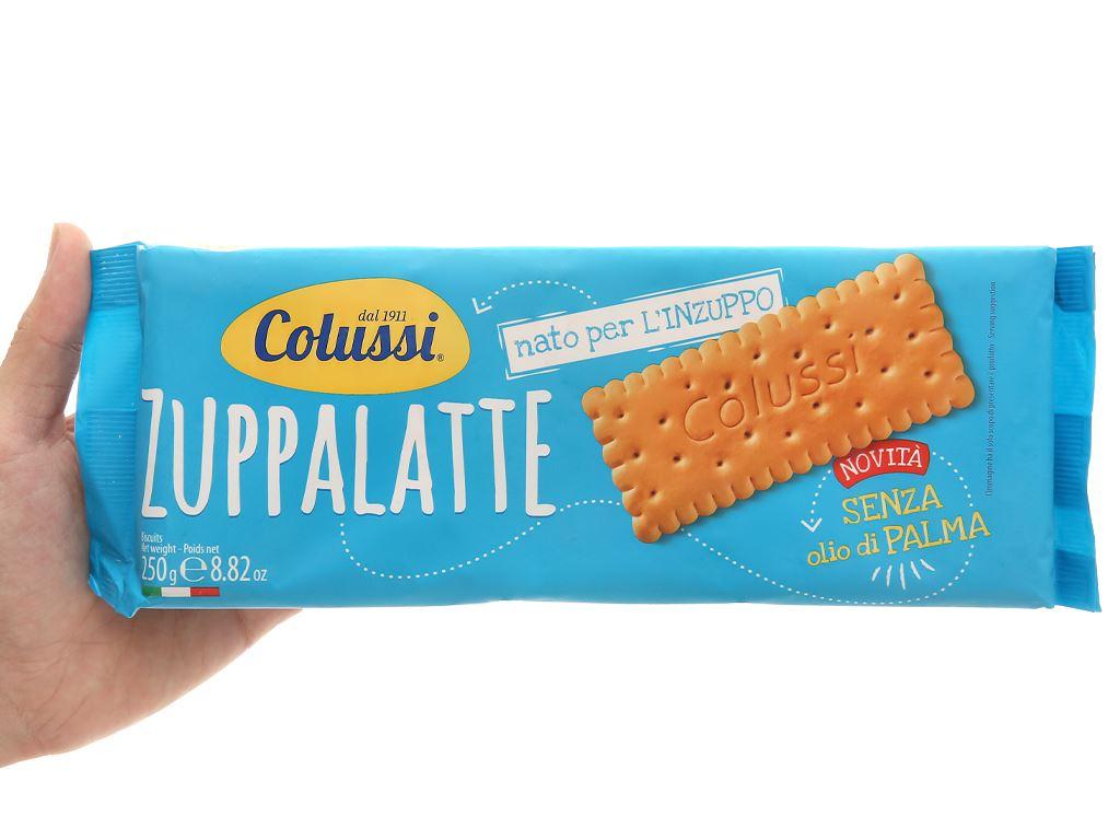 Bánh quy Colussi Zuppalatte gói 250g 4