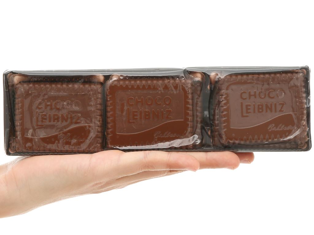 Bánh quy bơ socola sữa Bahlsen Leibniz hộp 125g 7