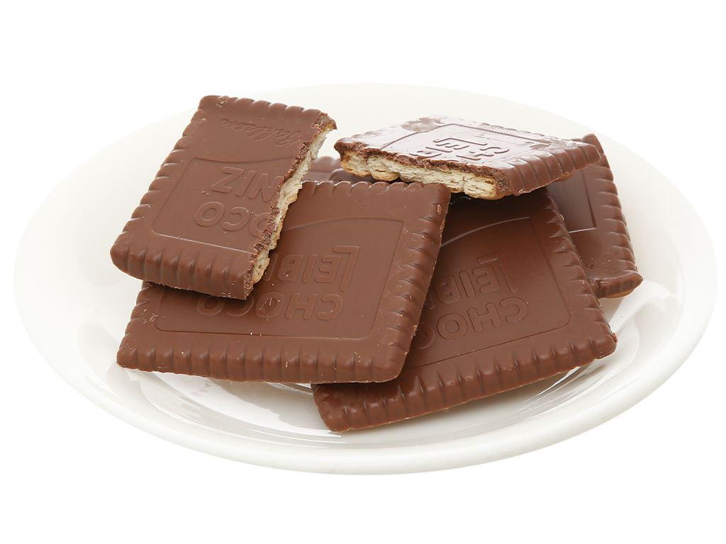 Bánh quy bơ socola sữa Bahlsen Leibniz hộp 125g 8