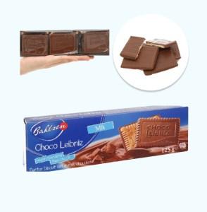 Bánh quy bơ socola sữa Bahlsen Leibniz hộp 125g