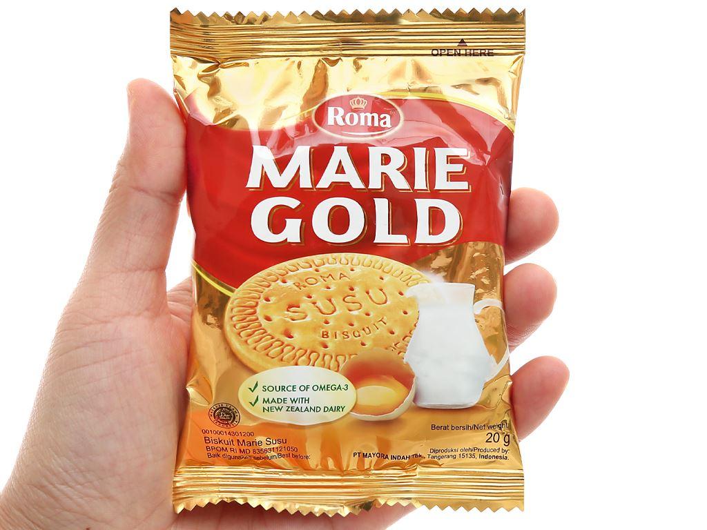 Bánh quy sữa Roma Marie Gold hộp 320g 6
