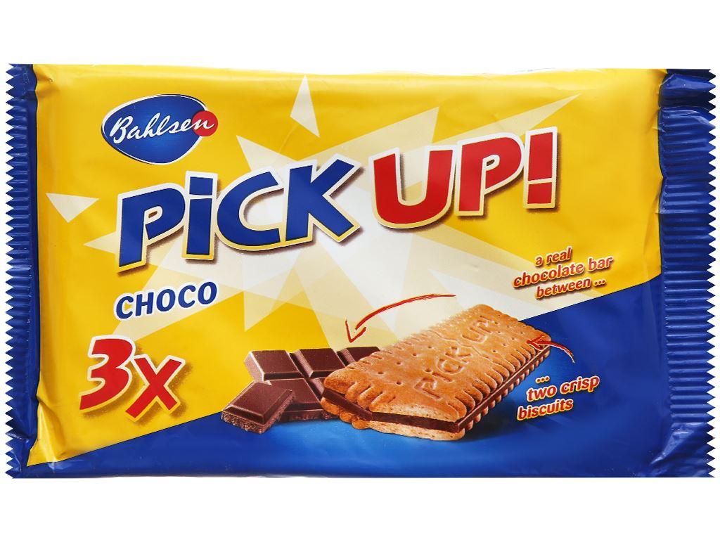 Bánh quy kẹp socola trắng Bahlsen Pick Up gói 84g 1