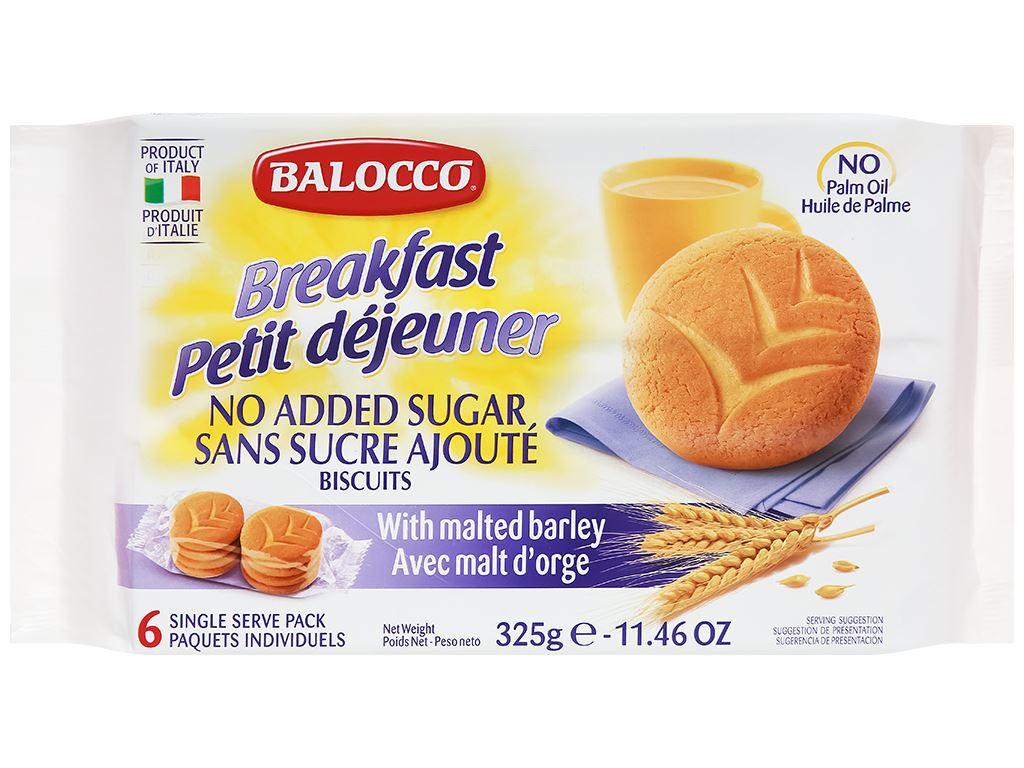 Bánh quy lúa mạch không đường Vitamia gói 325g 1
