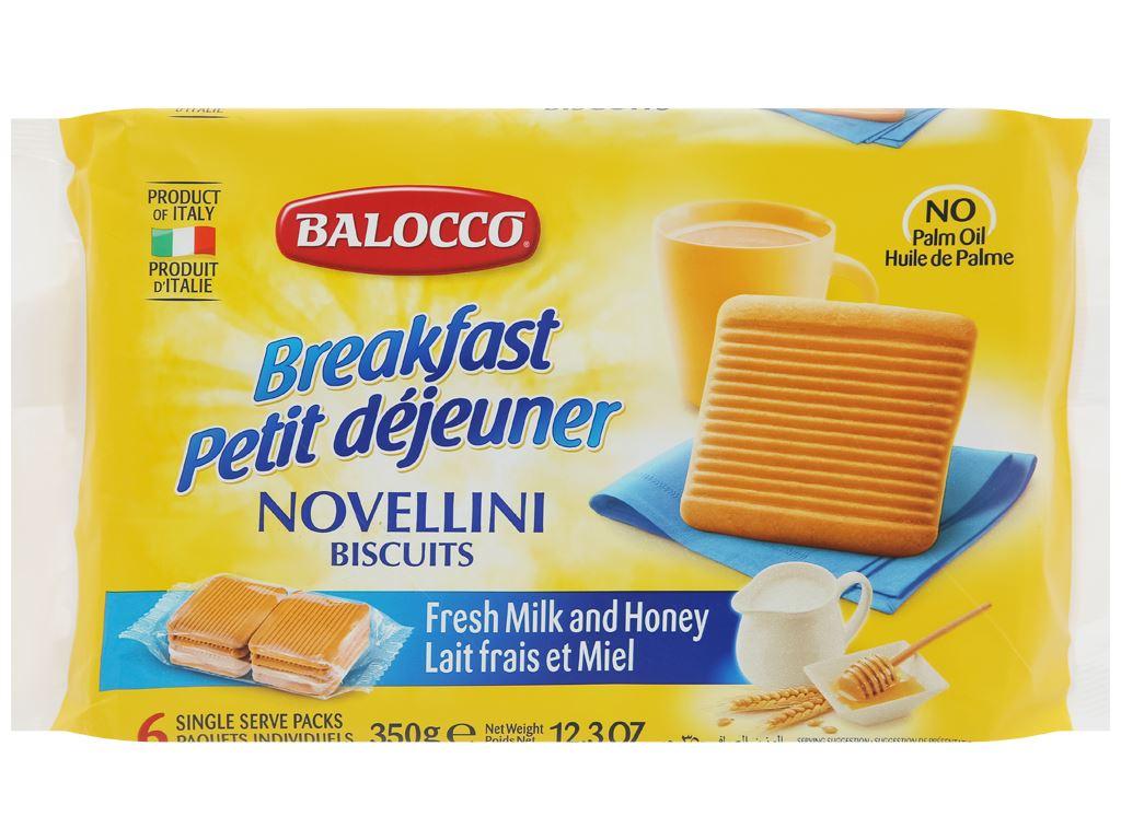 Bánh quy bơ Novellini gói 350g 1