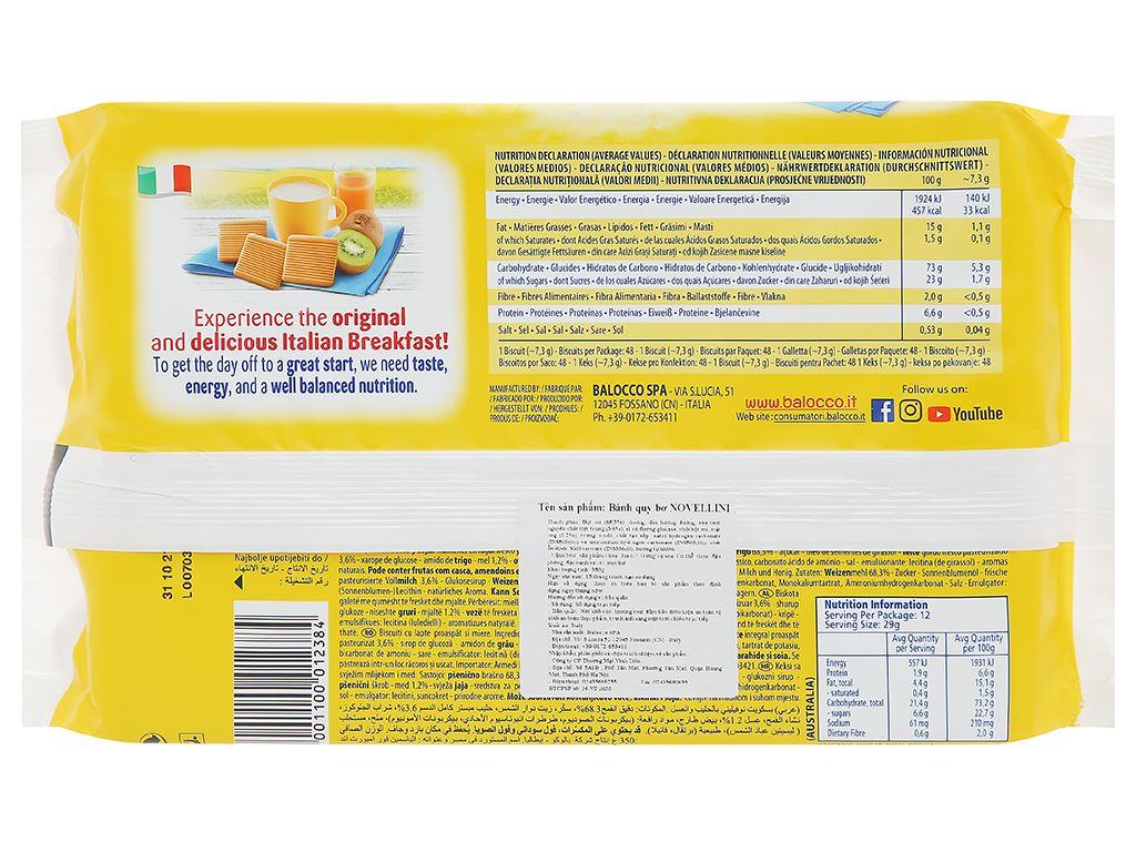Bánh quy bơ Novellini gói 350g 2