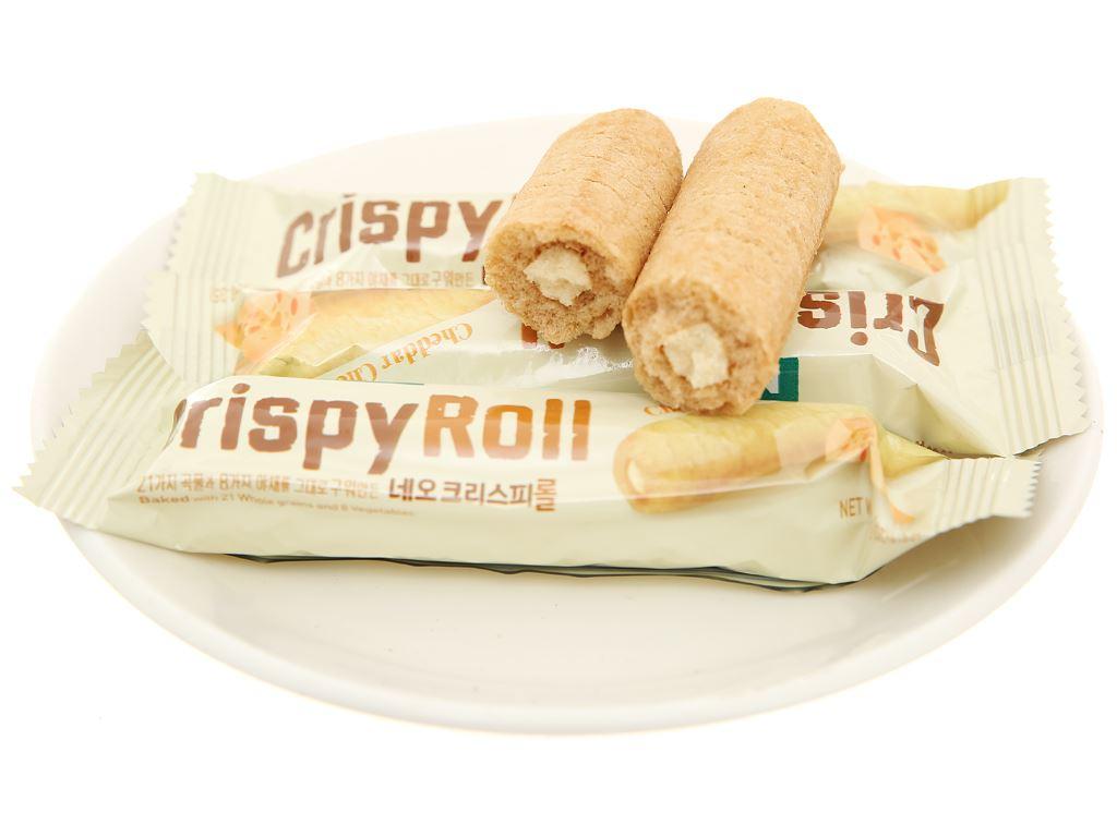 Bánh ngũ cốc cuộn kem phô mai Cheddar Neo gói 80g 5
