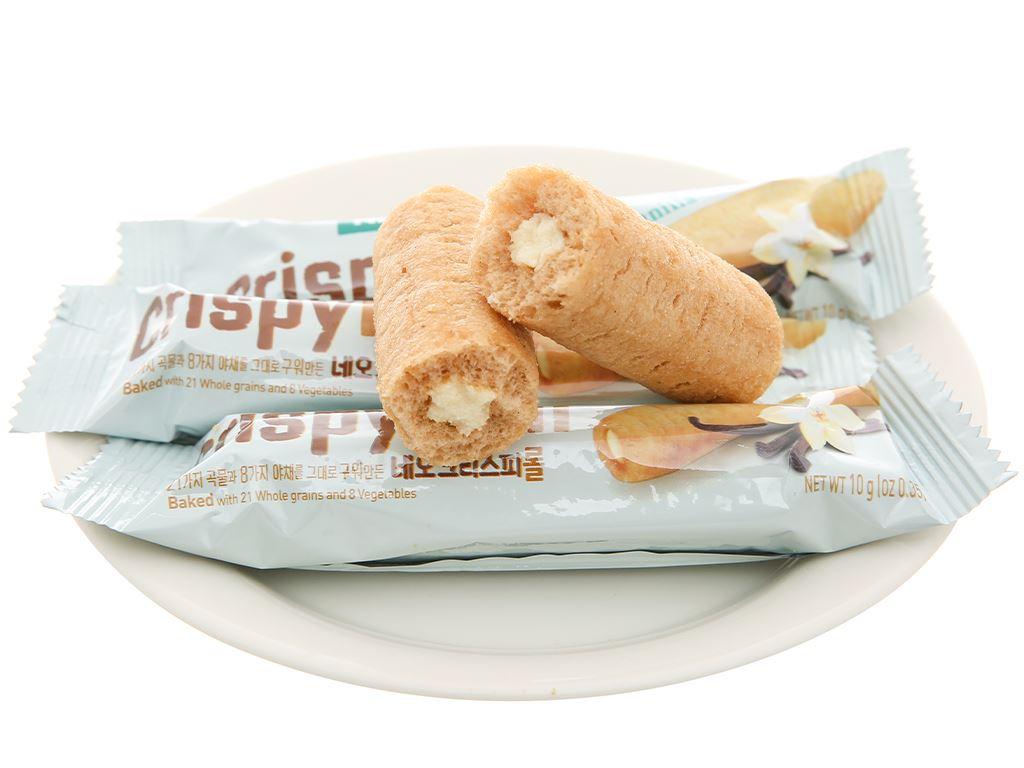 Bánh ngũ cốc cuộn kem vani Neo gói 80g 7