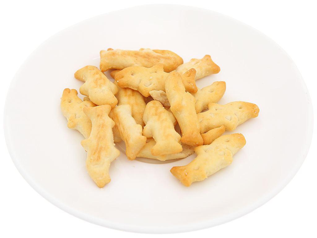 Bánh quy mặn Mai Tri Baby Shark gói 25g 5